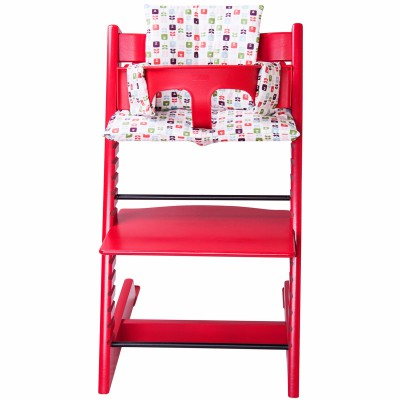 Assise floral pour chaise haute stokke tripp trapp trixie for Assise pour chaise haute