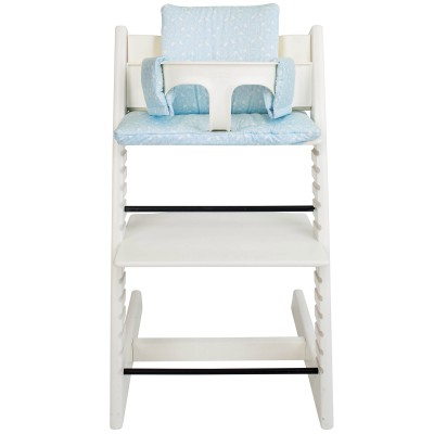 Assise blue birds pour chaise haute stokke tripp trapp for Assise pour chaise haute