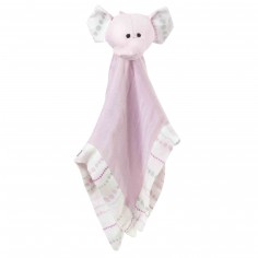 Doudou Lovey Elephant rose Tranquility - Aden + anais
