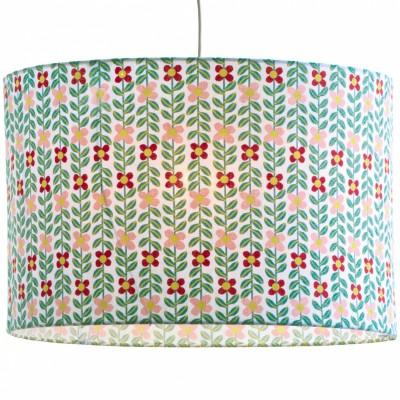 abat jour tissu fleurs little big room by djeco. Black Bedroom Furniture Sets. Home Design Ideas