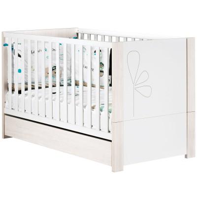 lit bb volutif opale blanc srigraphi little big bed. Black Bedroom Furniture Sets. Home Design Ideas