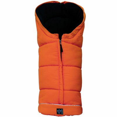 Chancelière polaire iglu thermo fleece - orange (105 cm)