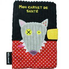 Prot�ge carnet de sant� Bigbos le Loup - Les D�glingos