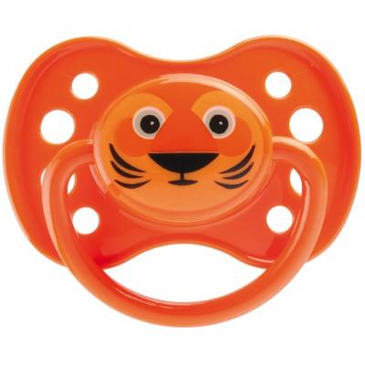 Sucette anatomique avec anneau en silicone masque lion (6 mois et +)