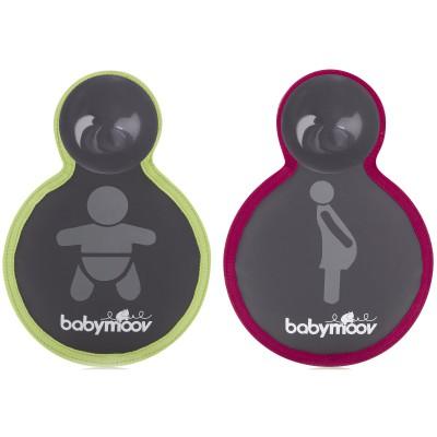 Signalétique réversible femme enceinte et bébé à bord
