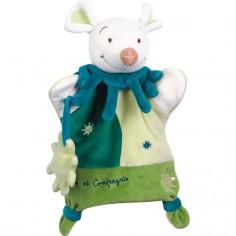 Doudou marionnette Souris verte  - Doudou & Compagnie