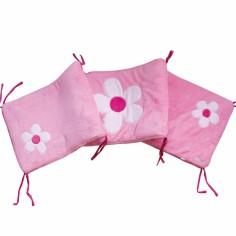 Tour de lit Flora (pour lits 60 x 120 cm et 70 x 140 cm)  - Doux Nid