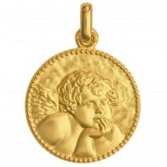 M�daille Ange de Rapha�l (or jaune 750�) - Monnaie de Paris