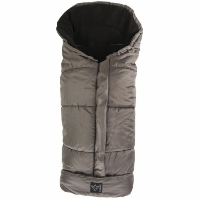 Chancelière polaire iglu thermo fleece - gris anthracite (105 cm)