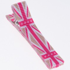 Barrette fille union Jack - Little Mademoiselle