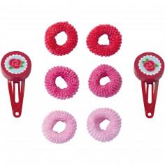 Accessoires cheveux Fleur rose - Haba