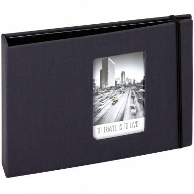 mini album pour photos polaroid noir 72 photos panodia. Black Bedroom Furniture Sets. Home Design Ideas