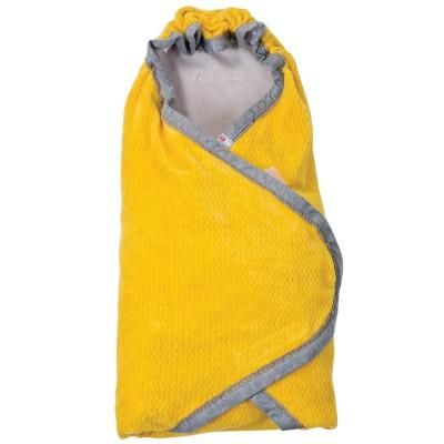 Couverture nomade jaune nouveau né wrapper newborn american fifties