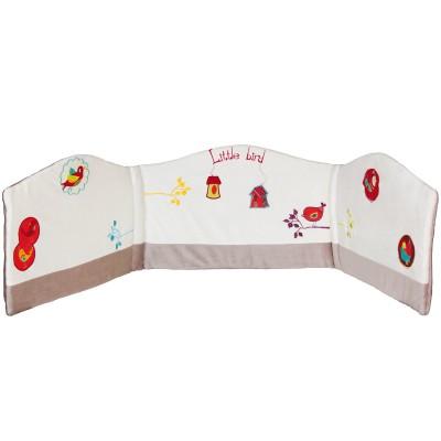 Tour de lit nelson (pour lits 60 x 120 cm et 70 x 140 cm)