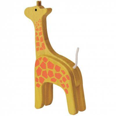 Girafe en bambou