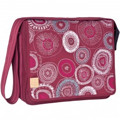 Sac � langer bandouli�re � rabat Casual rouge Fossil  - L�ssig