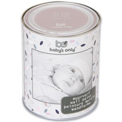 peinture murale vieux rose 1 l baby 39 s only. Black Bedroom Furniture Sets. Home Design Ideas