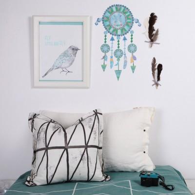 stickers attrape rves bleu petit modle love ma. Black Bedroom Furniture Sets. Home Design Ideas