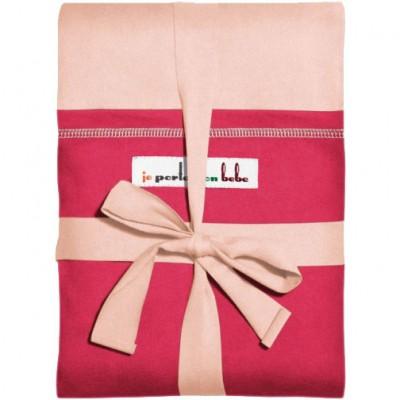 Echarpe de portage l'originale rose lumière poche fuchsia