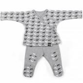 Ensemble pull et pantalon Walkie (3 mois : 60 cm)  - Walking Mum