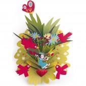 Tableau 3D Lillibellule oiseaux (45 x 50 cm) - Little big room by Djeco