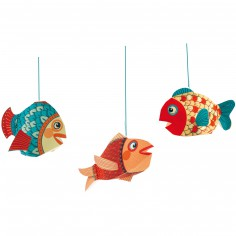 Mobile Petits poissons - Little big room by Djeco