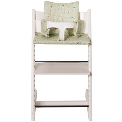 Assise pebble green pour chaise haute stokke tripp trapp
