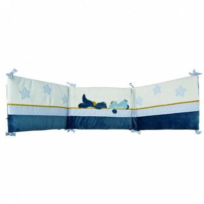 tour de lit victor et lucien pour lits 60x120 et 70x140cm. Black Bedroom Furniture Sets. Home Design Ideas