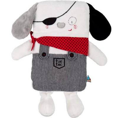 Bouillotte chien piratas (25 cm)
