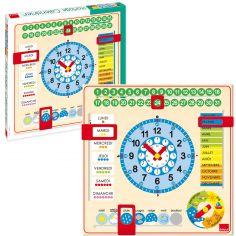Calendrier horloge - Goula
