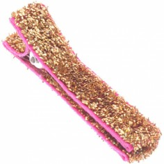 Barrette fille paillettes dor�es - Little Mademoiselle