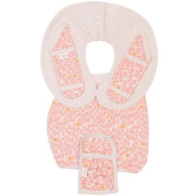 Protèges ceinture de sécurité pebble pink pour siège-auto pebble