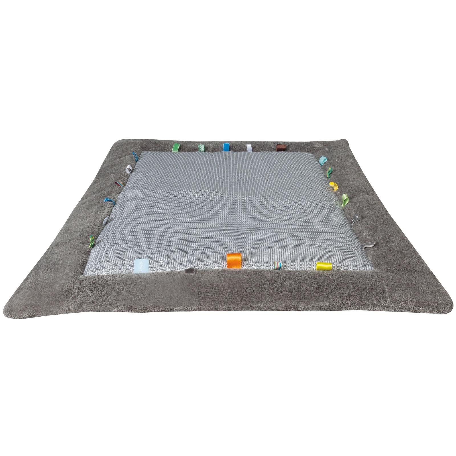 tapis de jeu cheerful playing storm grey 85 x 105 cm - Tapis De Jeu Bebe 1 An