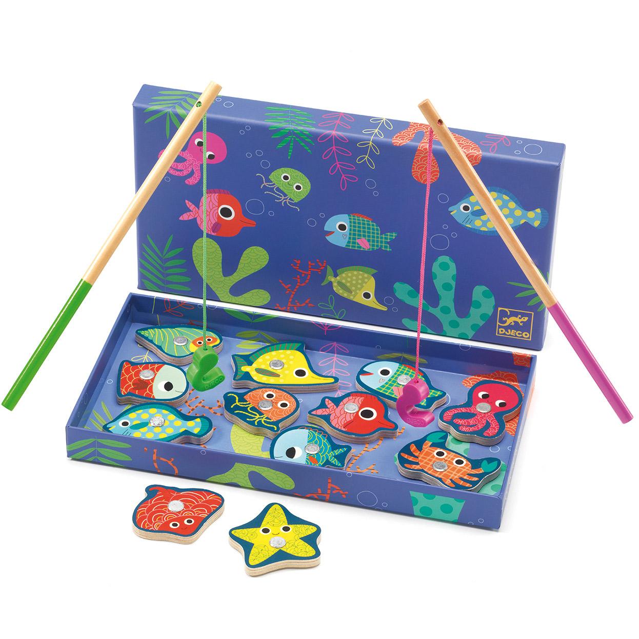 pêche colorée berceau magique
