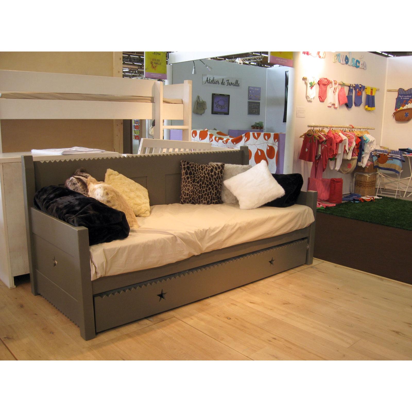 lit banquette enfant. Black Bedroom Furniture Sets. Home Design Ideas