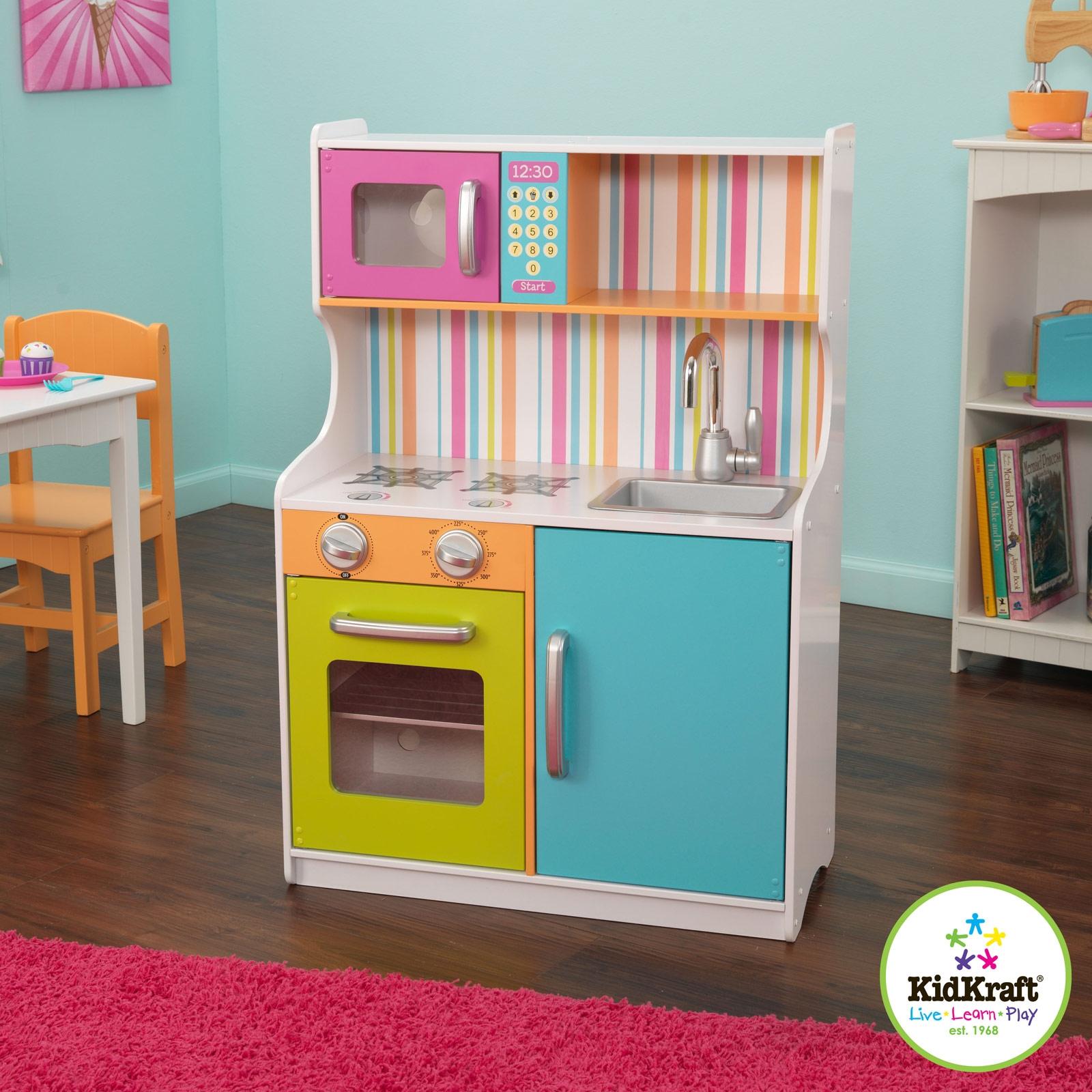 Cuisine bright multicolore : kidkraft   berceau magique