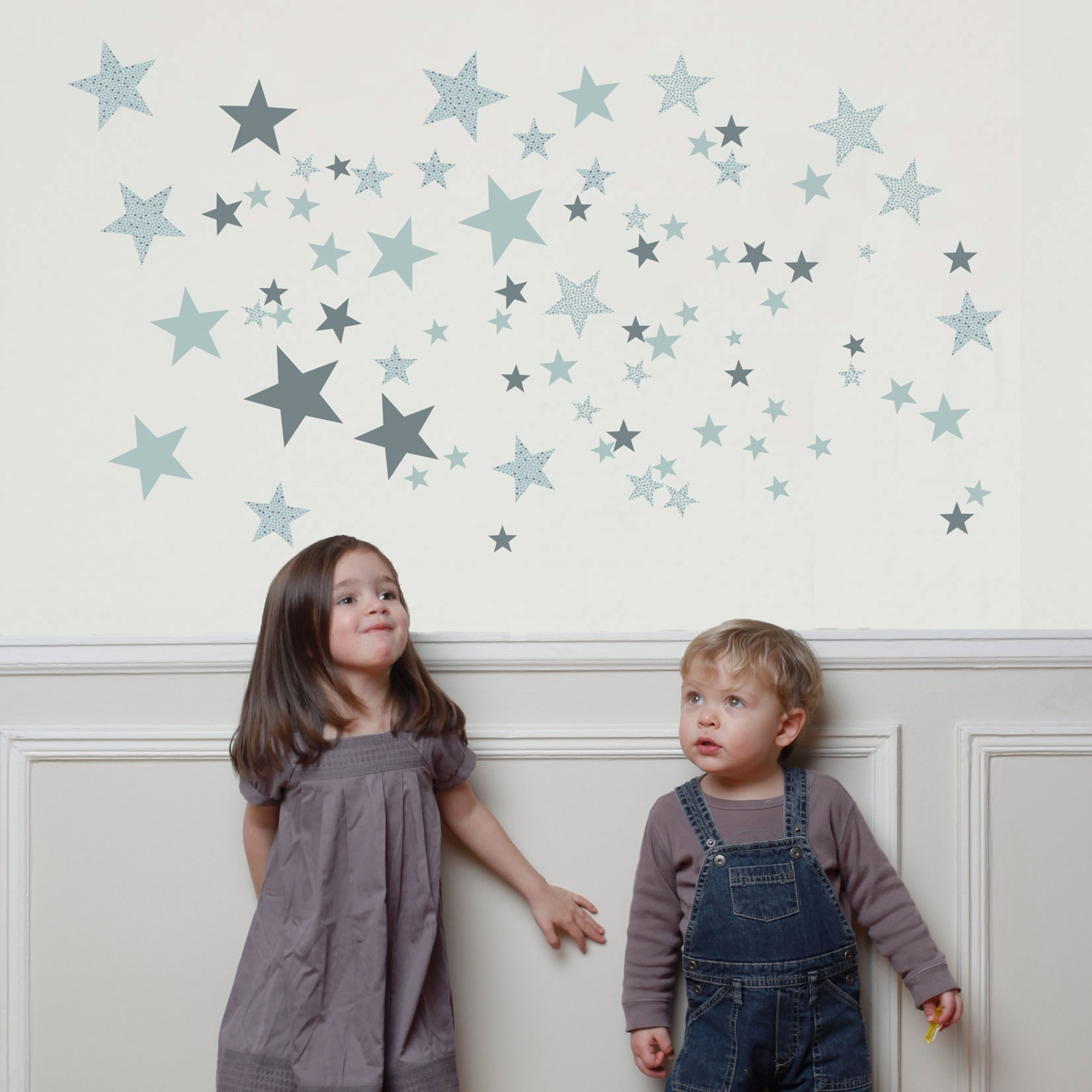 Stickers etoiles constellation verte : art for kids