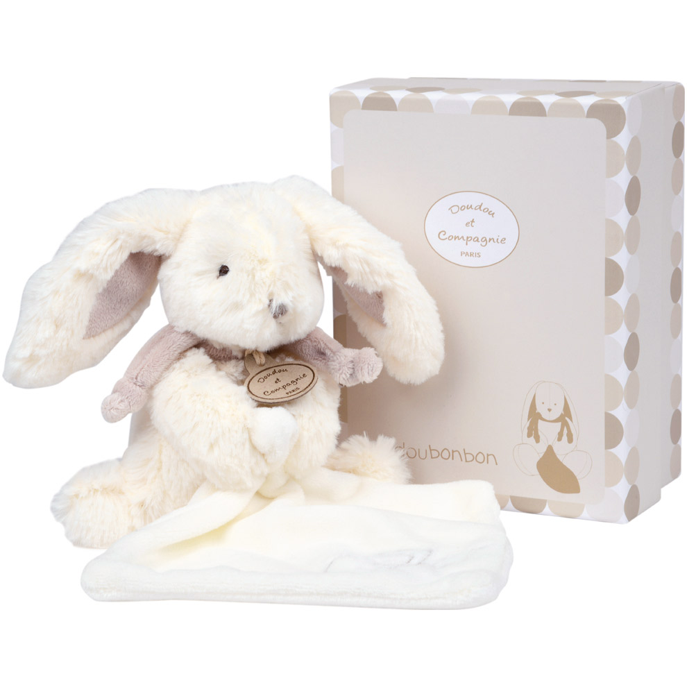 doudou collector lapin taupe 28 cm de doudou et compagnie. Black Bedroom Furniture Sets. Home Design Ideas