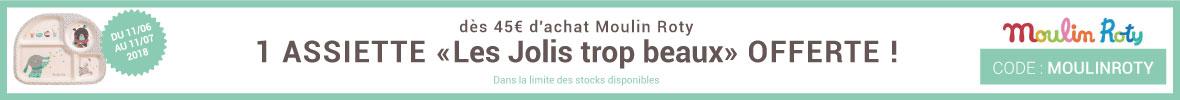 Une assiette Les Jolis Trop Beaux offerte ! > voir conditions