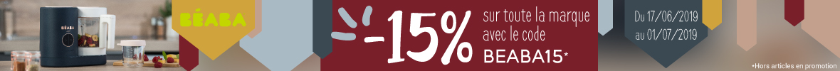 -15% sur toute la marque Béaba ! > voir conditions