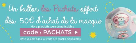 Une balle souple Les Pachats Offert dès 50€ d'achat sur la marque Moulin Roty > voir conditions