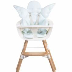 Coussin de chaise haute Ange mint blue