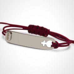 Bracelet I am Fille (or blanc 750°)