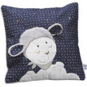 Coussin carré Merlin mouton (30 x 30 cm) - Sauthon Baby Déco
