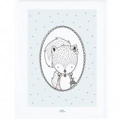 Affiche encadrée Susy l'écureuil (30 x 40 cm)