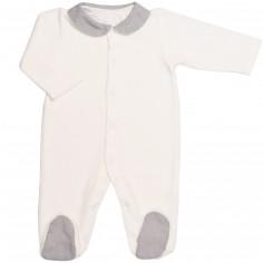 Pyjama chaud Sirène Grey (12 mois : 74 cm)