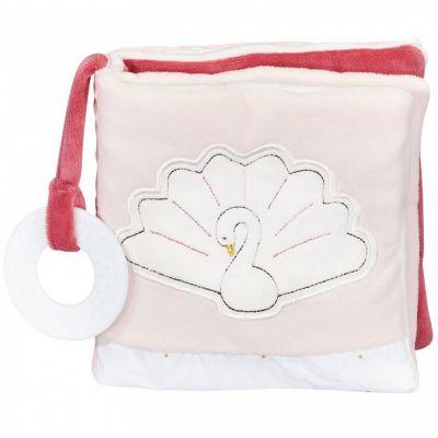 Livre bébé en tissu cygne Baby Swan  par Sauthon