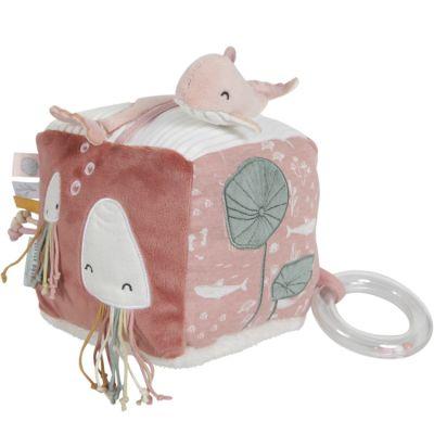 Cube d'activités Soft Ocean pink  par Little Dutch
