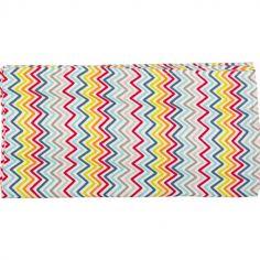 Maxi lange African Routes zigzag (120 x 120 cm)