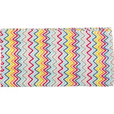 Maxi lange African Routes zigzag (120 x 120 cm)  par Tuc Tuc
